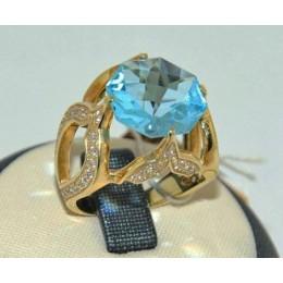 Женское авторское кольцо 70207