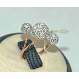 Женское авторское кольцо 70192