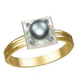 Кольцо с жемчугом 1194