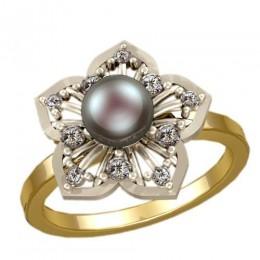 Кольцо с жемчугом 1199