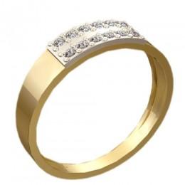 Женское кольцо классическое 1211