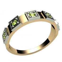 Женское кольцо классическое 1236