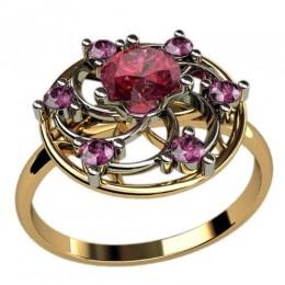 Женское кольцо 1238