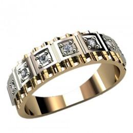 Женское кольцо классическое 1224