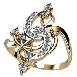 Женское кольцо 1255