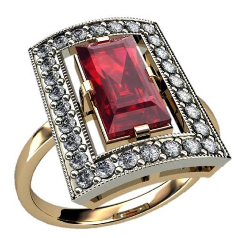 Кольца, Кольца женские - Артикул: 1256 ювелирные изделия EliteGold