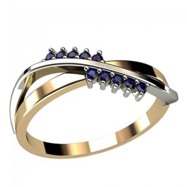 Женское кольцо классическое 1259