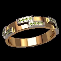 Женское кольцо классическое 1337