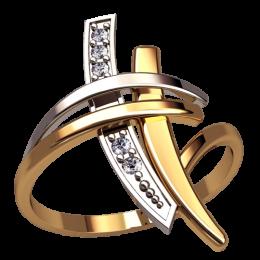 Женское кольцо 1344
