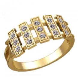 Женское кольцо классическое 2313