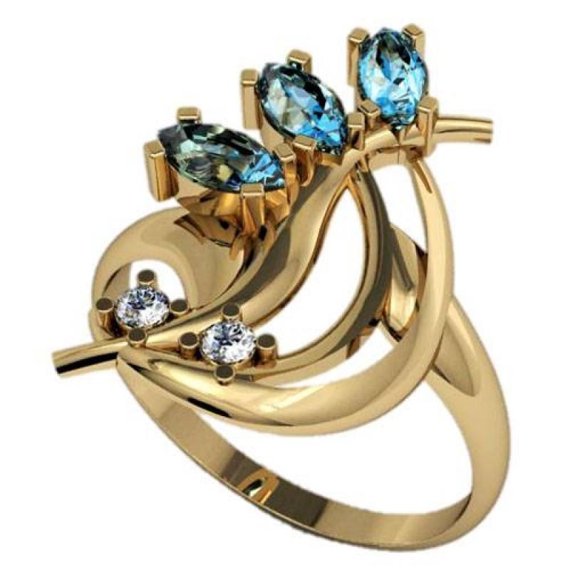 кольца с камнями - каталог 3