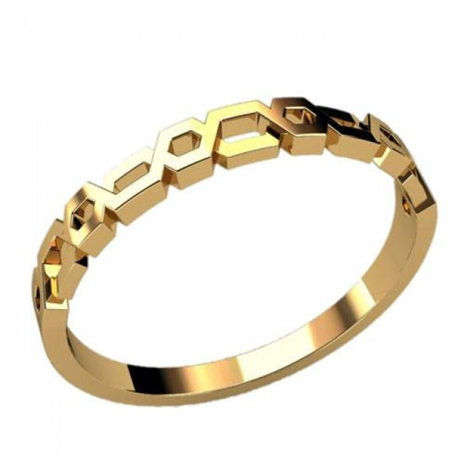 Женское кольцо классическое 2351