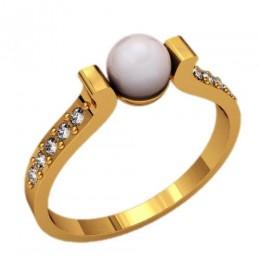 Кольцо с жемчугом 2353