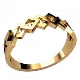 Женское кольцо классическое 2354
