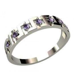 Женское кольцо классическое 2372