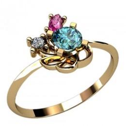 Женское кольцо 2374