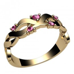 Женское кольцо классическое 2379