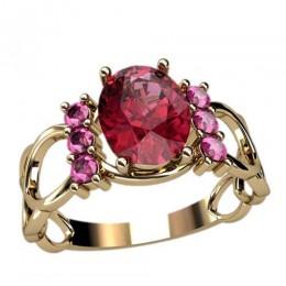 Женское кольцо 2384