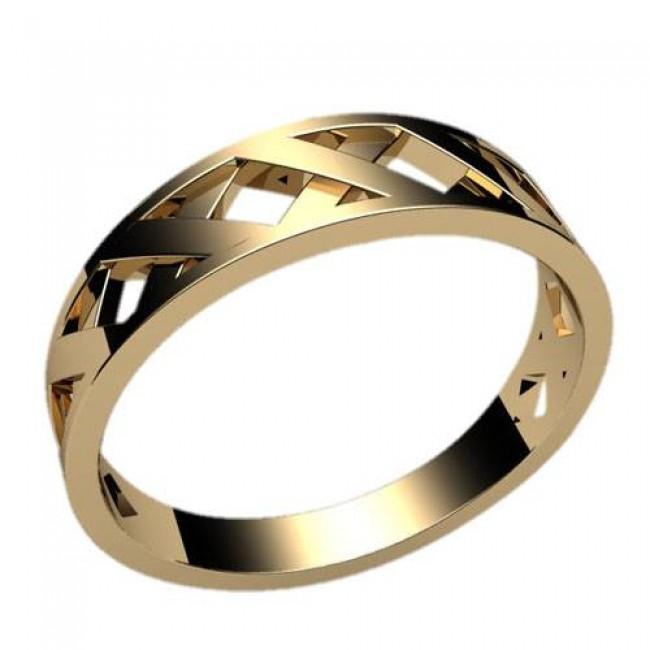 Женское кольцо классическое 2386