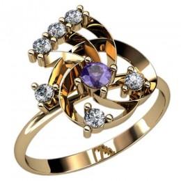 Женское кольцо 2393