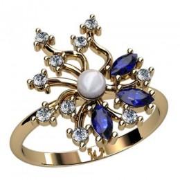 Кольцо с жемчугом 2394