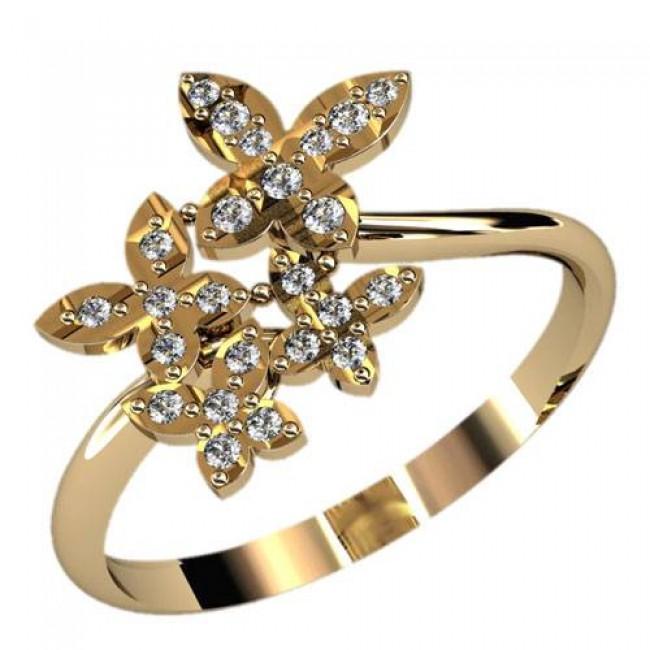 Женское кольцо 2397