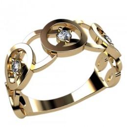 Женское кольцо 2406