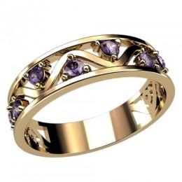 Женское кольцо классическое 2409