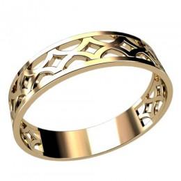 Женское кольцо классическое 2419