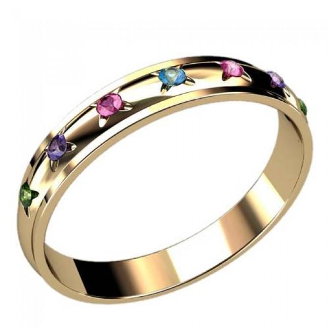 Женское кольцо классическое 2423