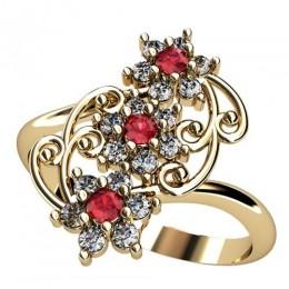 Женское кольцо 2424