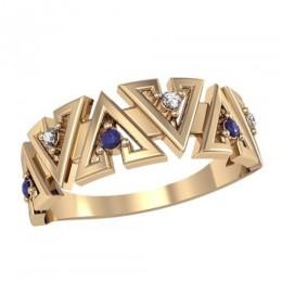Женское кольцо 2437