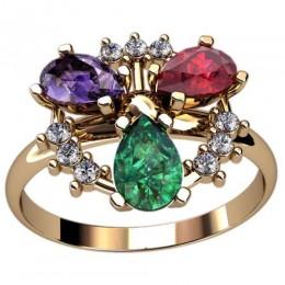 Женское кольцо 2441