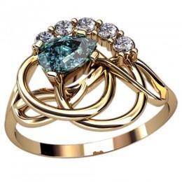Женское кольцо 2445