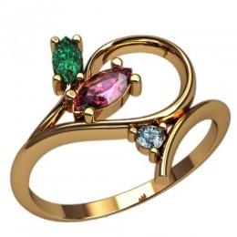 Женское кольцо 2449