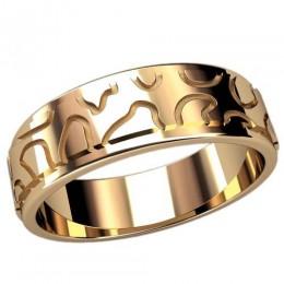 Женское кольцо классическое 2458