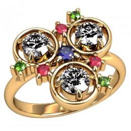 Женское кольцо 2460