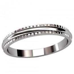 Женское кольцо классическое 2469