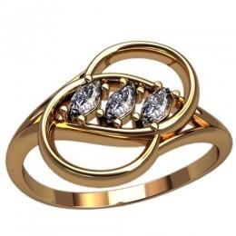 Женское кольцо 2478