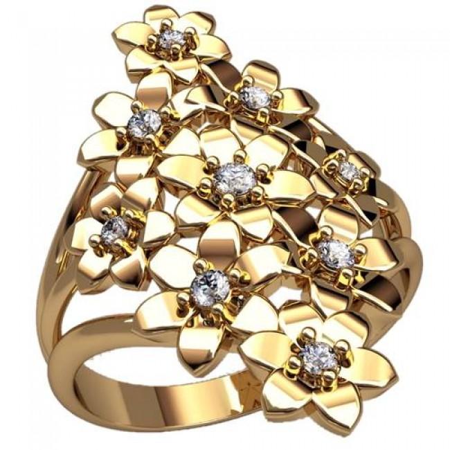 Женский перстень 2489