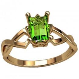 Женское кольцо 2491