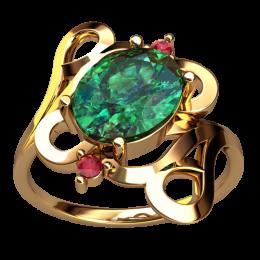 Женское кольцо 2498