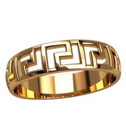 Женское кольцо классическое 2500
