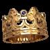 Кольцо корона 2501