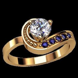 Женское кольцо 2503