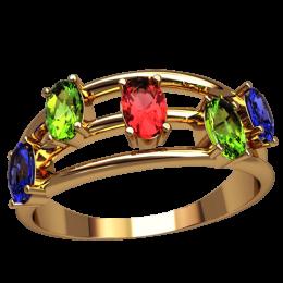 Женское кольцо 2509