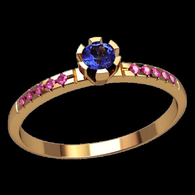 Женское кольцо классическое 2510