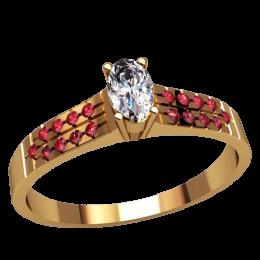 Женское кольцо 2511