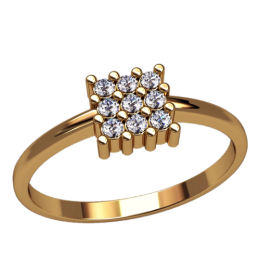 Женское кольцо 2512