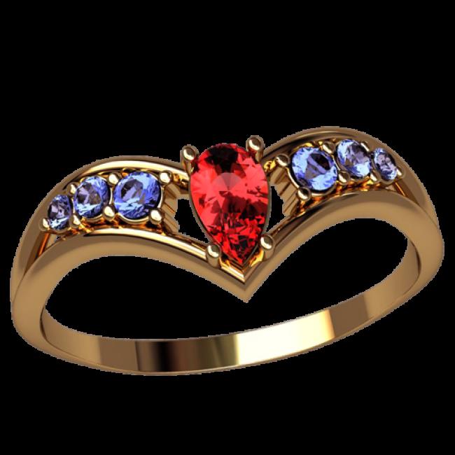Женское кольцо 2517